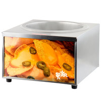 Star 11WLA 11 Qt. Heat & Serve Lighted Nacho Cheese Warmer / Nacho Cheese Dispenser 1600 Watt