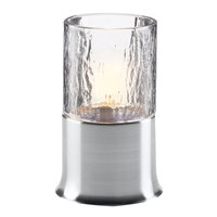 Sterno Products 85150 Brushed Silver Flare Lamp Base