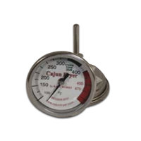 R & V Works Fryer Thermometer for FF1, FF2 Regular, FF2 Super, FF2 EC, FF6, and Commercial Jimmy Fryers