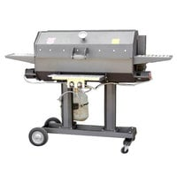 R & V Works CG-40 40 inch Smokin' Cajun Grill - 90,000 BTU, LP