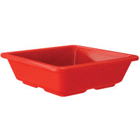 GET ML-122-RSP Red Sensation 4 3/4 inch Square Side Dish - 12/Case