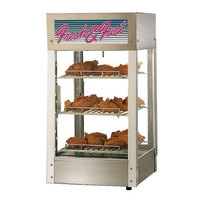 Star HFD2AS 21 1/8 inch Humidified Display Case with Three Adjustable Shelves