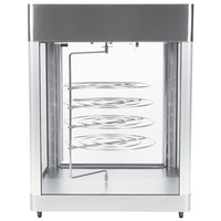 Star HFD3ACR 28 1/4 inch Humidified Pizza Display Case with Four 18 inch Pizza Racks