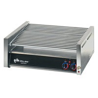 Star 75C Grill-Max 75 Hot Dog Roller Grill with Chrome Rollers - Slanted