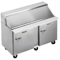 Traulsen UPT6012-RR 60 inch Sandwich / Salad Prep Refrigerator with Two Right Hinged Doors
