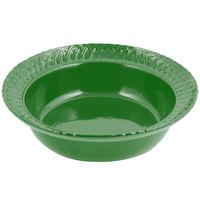 Bon Chef 2307 2.5 Qt. Sandstone Calypso Green Cast Aluminum Trellis Bowl