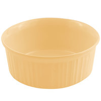 Bon Chef 5054 2.5 Qt. Sandstone Ginger Cast Aluminum Casserole Dish