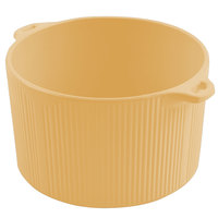 Bon Chef 9145 2 Qt. Sandstone Ginger Cast Aluminum Pot with Bail Handle