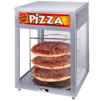 APW Wyott HDC-4 Heated Display Case with Four 18 inch Pizza Racks - 220V
