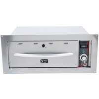 APW Wyott HDDSi-2B Slimline Built-In 2 Drawer Warmer