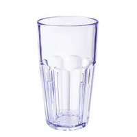 GET 9916-1-BL 16 oz. Blue Break-Resistant Plastic Bahama Tumbler - 72/Case