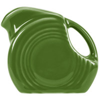 Homer Laughlin 475324 Fiesta Shamrock 5 oz. Mini Disc Creamer Pitcher - 4/Case