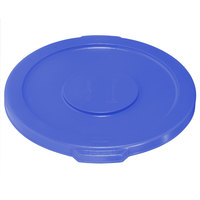Rubbermaid Brute 1779700 Blue 10 Gallon Trash Can Lid