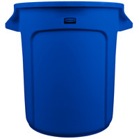 Rubbermaid Blue 10 Gallon Trash Can