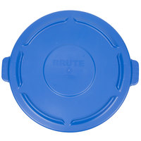 Rubbermaid 1779636 BRUTE 44 Gallon Blue Trash Can Lid