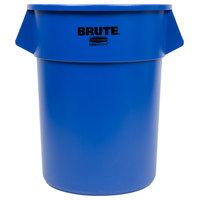 Rubbermaid Brute 1779732 Blue 55 Gallon Trash Can