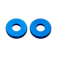Nemco 55534-4 End Spacer Set for 1/4 inch Easy Onion Slicer - 2 Blue Spacers