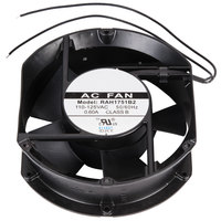 Avantco 17812073 5 7/8 inch x 6 3/4 inch Axial Evaporator Fan - 125V