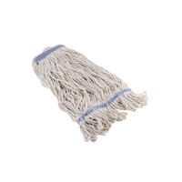 Continental A11113 32 oz. Loop End Natural Cotton Mop Head with 1 1/4 inch Band