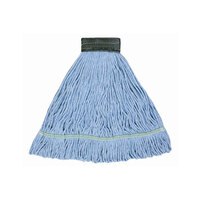 Continental A02603 32 oz. Blue Blend Loop End Mop Head with 5 inch Band