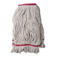 24 oz. Loop End Natural Cotton Mop Head with 1 1/4 inch Band