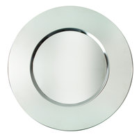 The Jay Companies 13 inch Round Bridal Stainless Steel Charger Plate