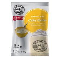 Big Train Cake Batter Blended Creme Frappe Mix - 3.5 lb.