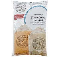 Big Train Strawberry Banana Blended Creme Frappe Mix - 3.5 lb.