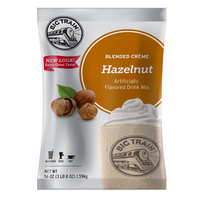 Big Train Hazelnut Blended Creme Frappe Mix - 3.5 lb.