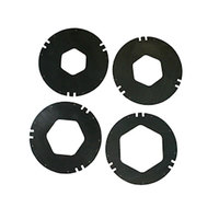 San Jamar XC2426BK Replacement Black Gasket Kit for C2410C Series Cup Dispensers