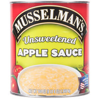 Musselman's #10 Can Natural Unsweetened Apple Sauce - 6/Case