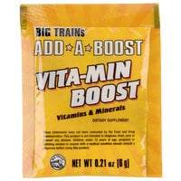 Big Train 6 gram Add-A-Boost Vitamin Boost Dietary Supplement - 300/Case