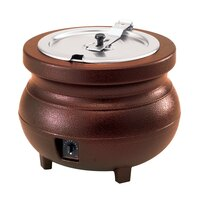 Vollrath 72181 Cayenne Colonial 7 Qt. Soup Kettle with Copper Finish 120V