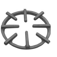 All Points 24-1057 9 7/8 inch Cast Iron Spider Ring Grate