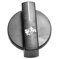 All Points 22-1506 2 inch Black Fryer Thermostat Knob