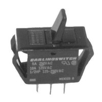 Bunn 04351.0000 Equivalent On/Off Toggle Bat Switch - 10A/125V, 5A/250V