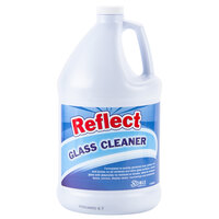 Noble Chemical Reflect Glass Cleaner (4) 1 Gallon Bottles - Ecolab® 25798 Alternative