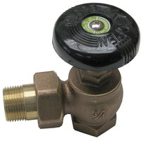 All Points 56-1009 3/4 inch x 1 inch 90-Degree Steam Supply Valve