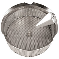 Tellier X5040 Stainless Steel 5/32 inch (4 mm) Basket Sieve for 42574-37 Food Mill