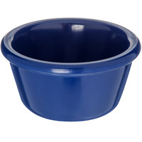 Carlisle S28560 4 oz. Cobalt Blue Smooth Melamine Ramekin - 48/Case