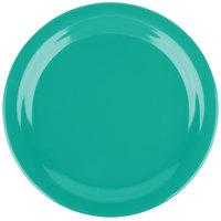 Carlisle 4350109 Dallas Ware 9 inch Meadow Green Melamine Plate - 48/Case
