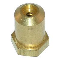Imperial 2062-1 Equivalent Brass Hood Orifice; #43; 3/8 inch-27 Thread; 1/2 inch