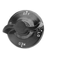 Garland / US Range G1035-1 Equivalent 2 1/4 inch Broiler / Hotplate / Oven Knob (Off, Lo, Med, Hi)