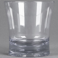 Carlisle 561207 Alibi 12 oz. SAN Plastic Double Old Fashioned Glass - 24/Case