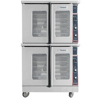 Garland MCO-ED-20-S Double Deck Deep Depth Full Size Electric Convection Oven - 240V, 1 Phase, 20.8 kW