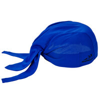Headsweats 8800-804 Royal Blue 100% Performance Fabric Adjustable Chef Bandana / Do Rag