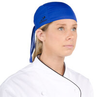Headsweats 8800-804 Royal Blue Eventure Fabric Adjustable Chef Bandana / Do Rag