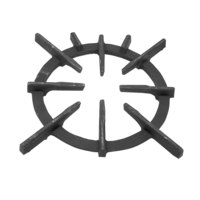 All Points 24-1128 10 1/4 inch Cast Iron Spider Grate