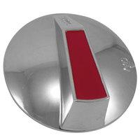 All Points 22-1273 2 3/8 inch Broiler / Grill / Hotplate / Range Burner Valve Knob (Off, On)
