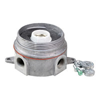 All Points 38-1323 Junction Box with Lamp Assembly; 5/16 inch Diameter Mounting Hole; 5 1/8 inch Centers